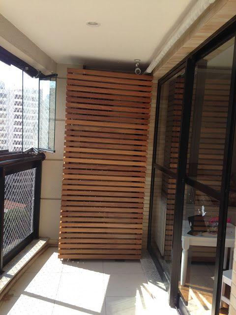 Arm rio para esconder ar condicionado do apartamento do apartamento da juliana varandas e - Armario balcon ...