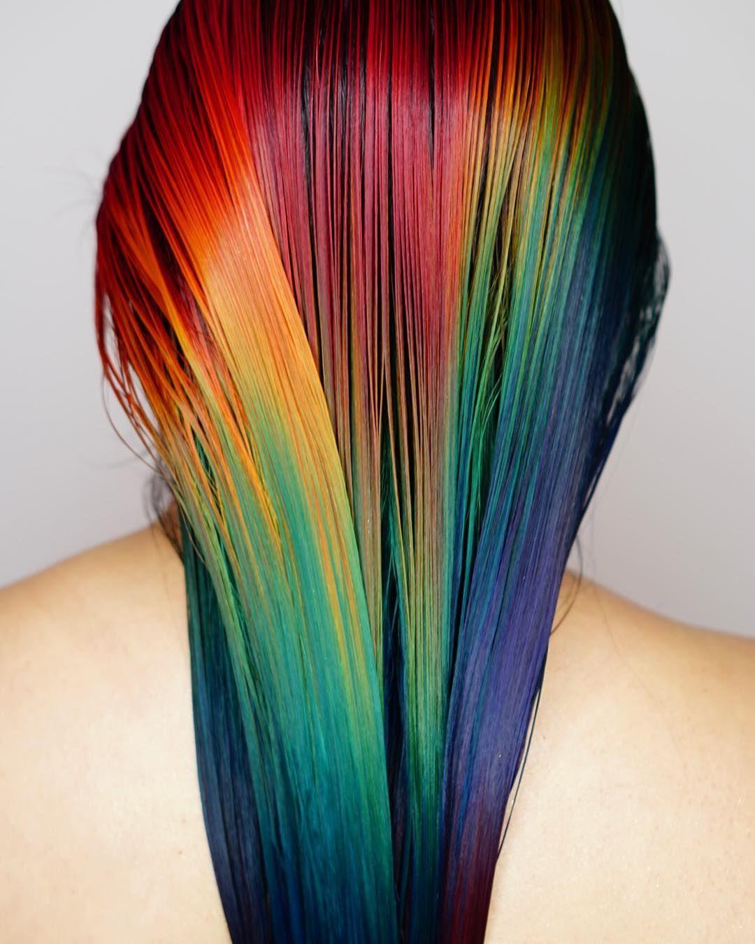 Hair by alix maya clymer professional range by manic panic hair
