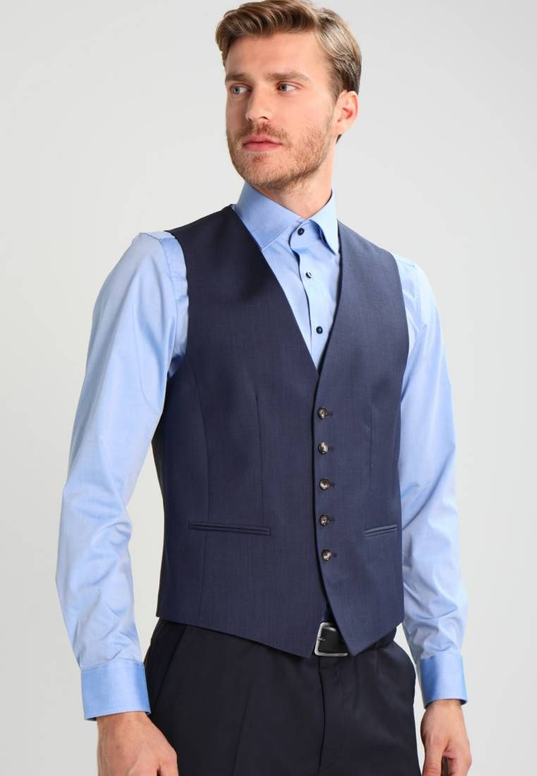 Tommy Hilfiger Tailored WEBSTER - Chaleco de traje - blue MUD7rgHoFc