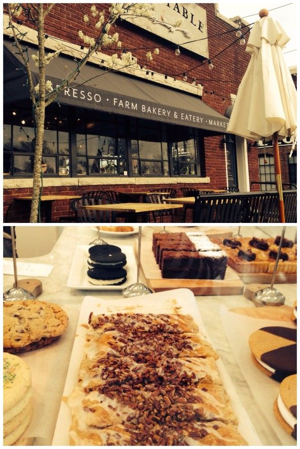 Asheboro, North Carolina The Table Farmhouse Bakery Coffee, Cappuccinos, Fresh Breads and Pastries