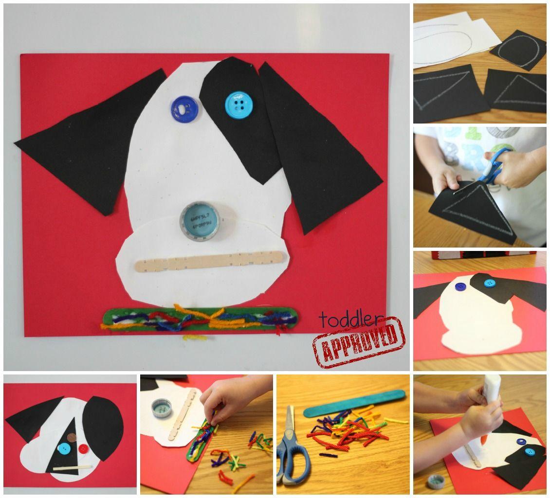 Art Girls Virtual Preschool: 2 Simple Dog Crafts Inspired By RRRALPH {Lois Ehlert