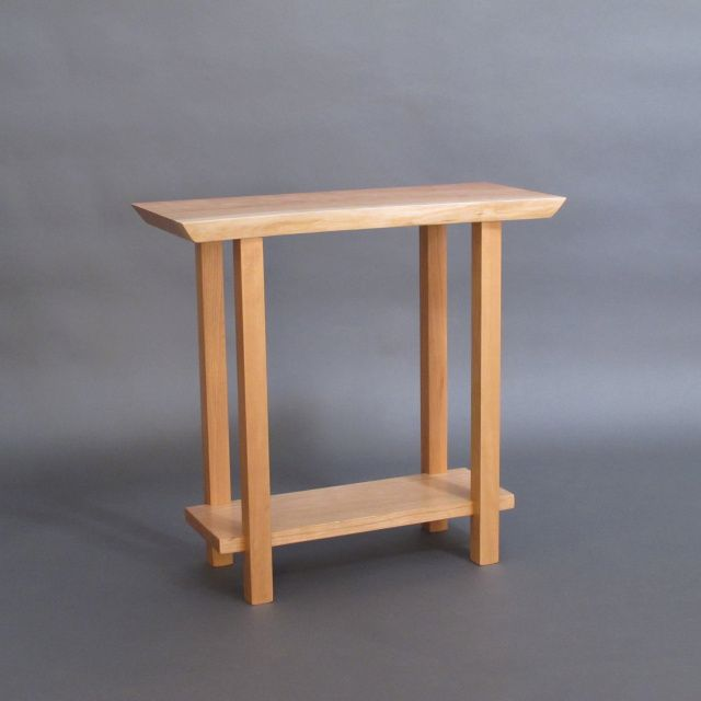 Live Edge Signature Side Table Small Accent Tables Small Accent