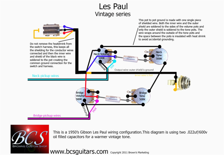 Epiphone Les Paul Wiring Schematic Diagram Within