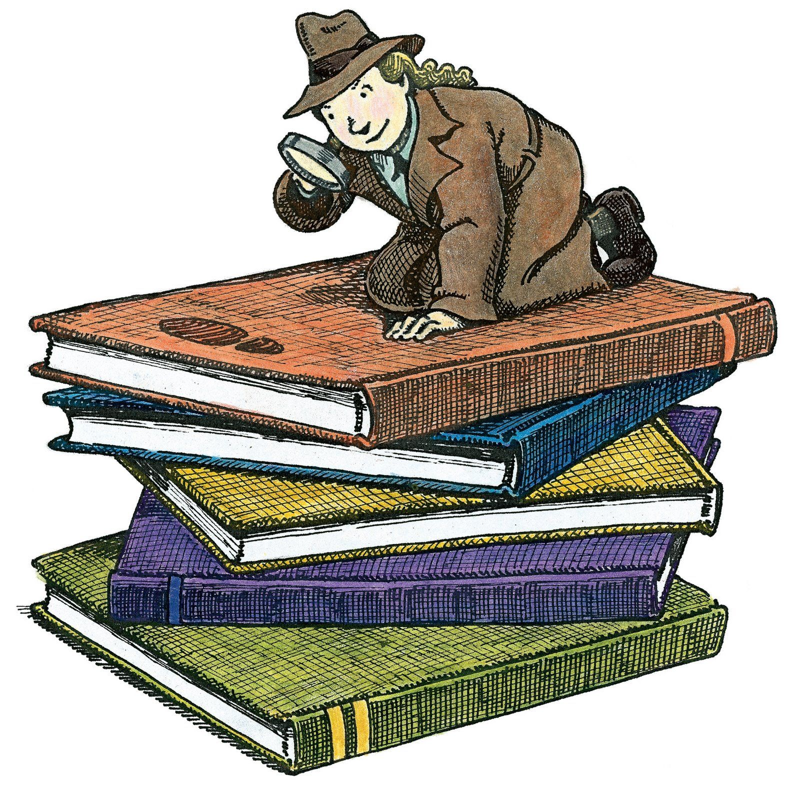 Images For > Mystery Genre Clipart