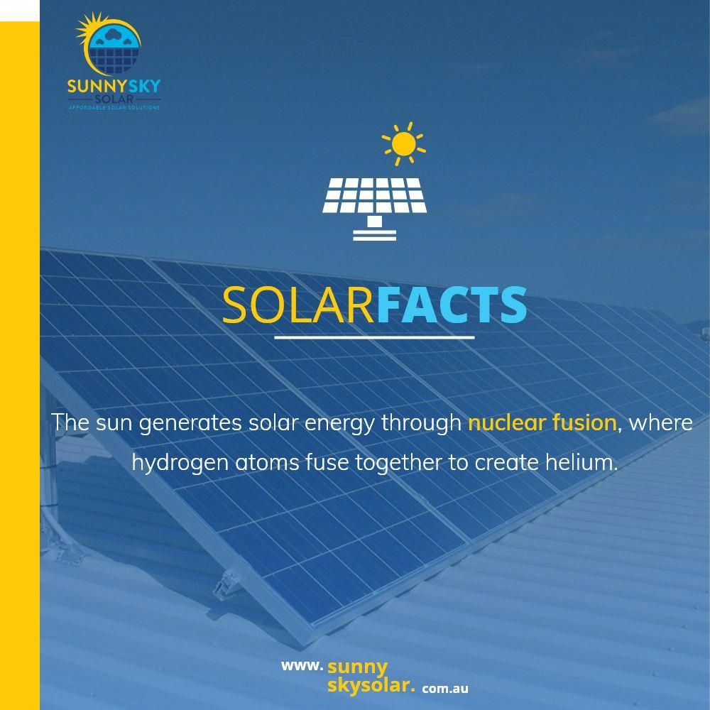 Solar Facts Solar Power System Sunny Sky Solar In 2020 Solar Facts Solar Quotes Solar Energy System