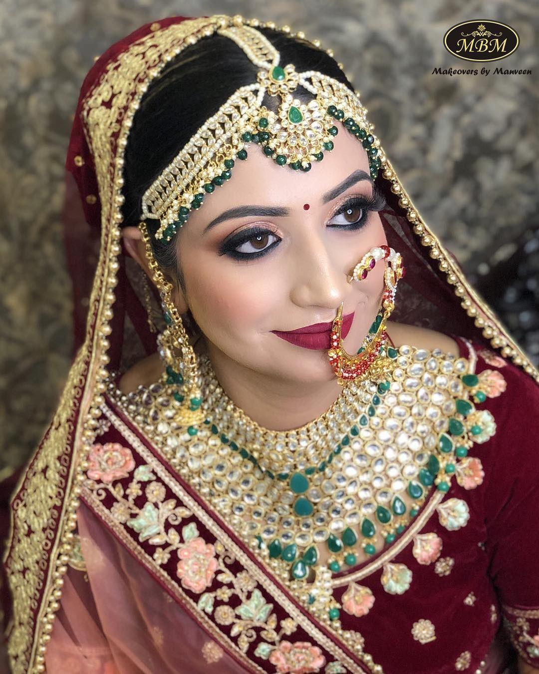 14 Best Bridal Makeup Artists In Delhi Ncr Under Inr 30k Bridal Jewelry Indian Bridal Makeup Best Bridal Makeup