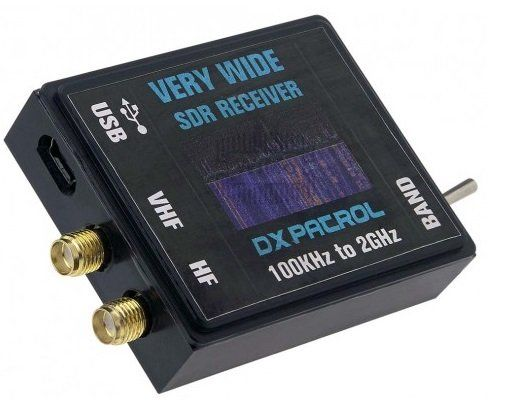 DX-Patrol SDR ( Software Defined Radio ) Receiver with wide
