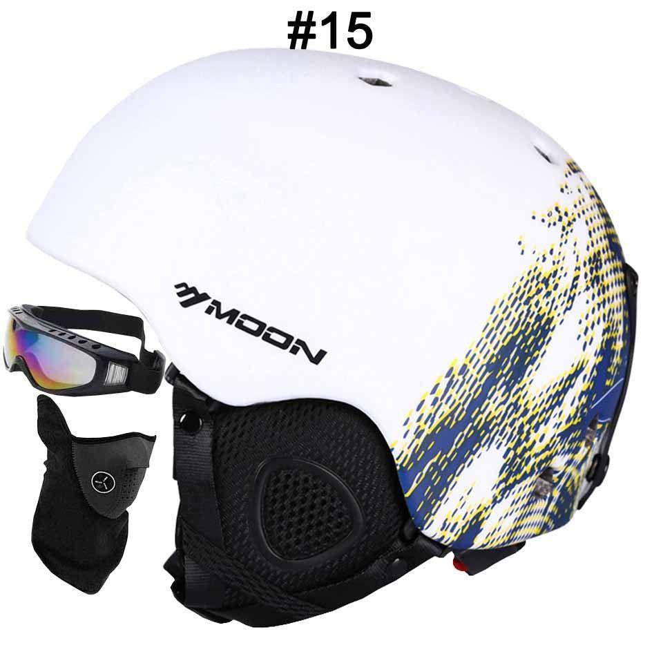 Moon ce certification skateboardsnowboard helmet