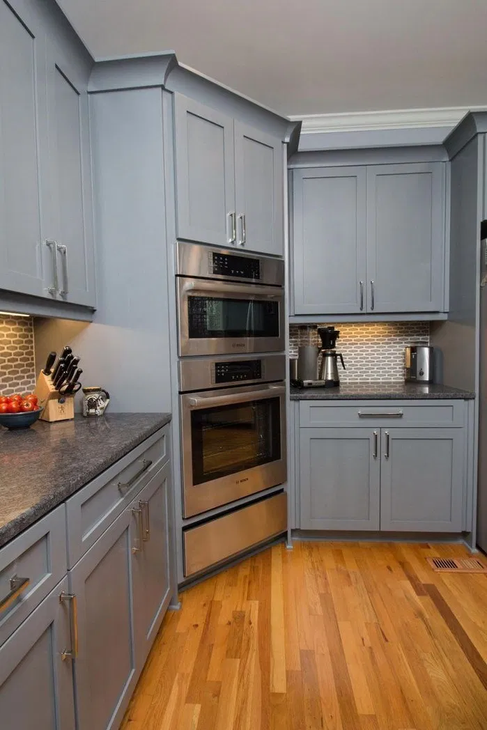 115 Good Grey Kitchen Cabinets Will Make You Not Easy To Get