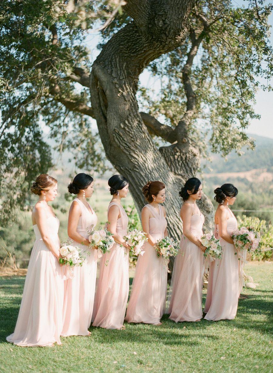 Breathtaking Winery Wedding Elizabeth Anne Designs The Wedding Blog Beach Wedding Guest Dress Bridesmaid Winery Wedding Photos [ 1229 x 900 Pixel ]
