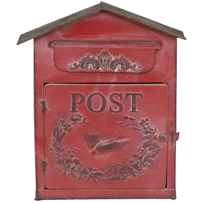 Red Vintage Mailbox