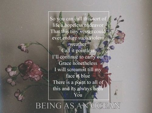 being as an ocean auf Tumblr | Graphic | Pinterest | Ocean ...