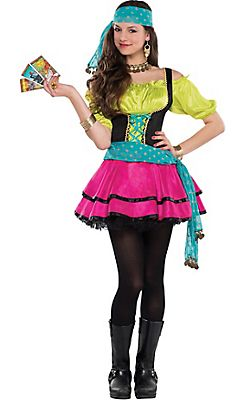 Career Costumes for Teen Girls  sc 1 st  Pinterest & Teen Girls Mystical Gypsy Costume | Halloween | Pinterest | Teen ...