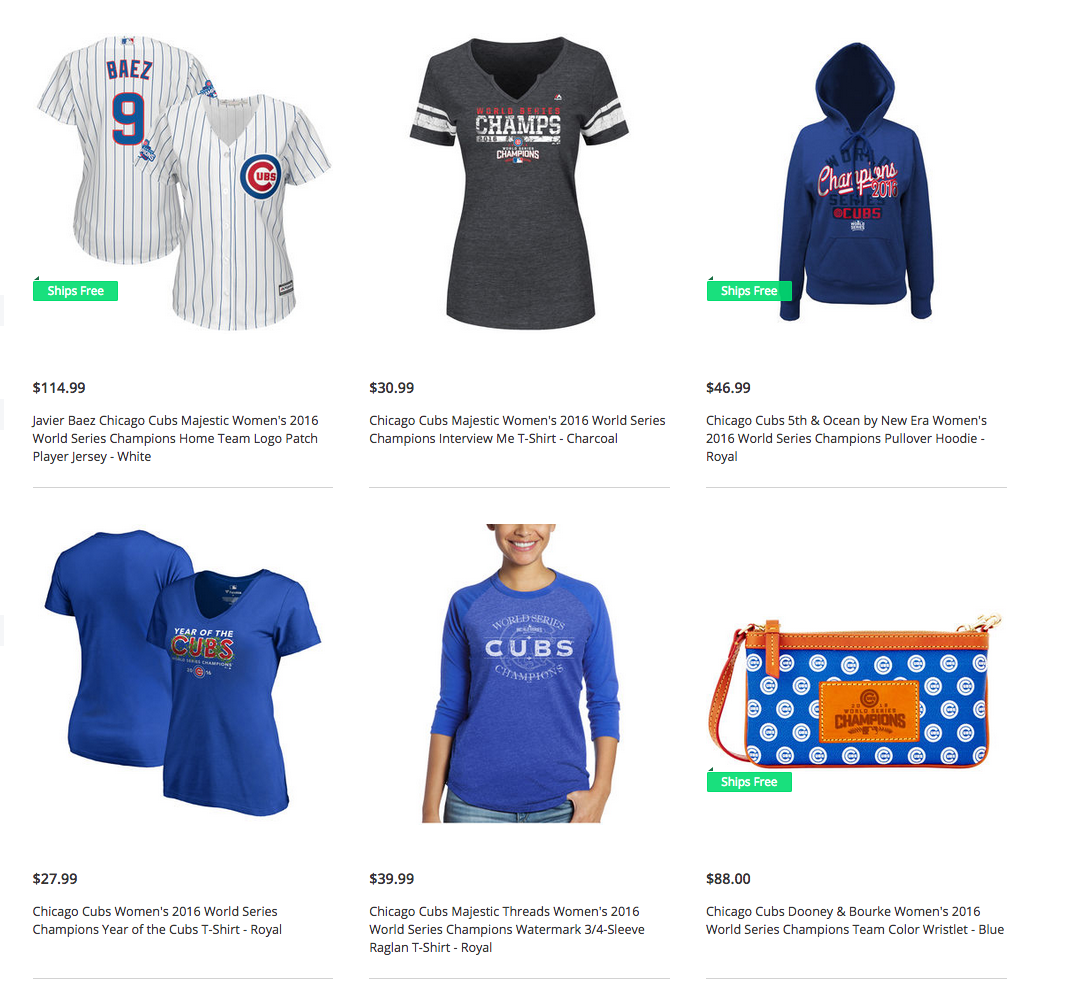 911cd5c0c Chicago Cubs 2016 World Series Champions Merchandise | Chicago Cubs ...