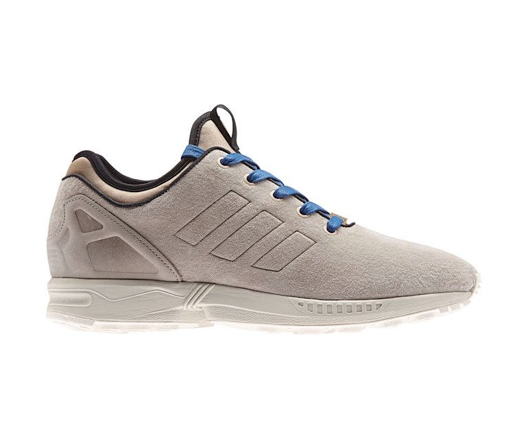Adidas Zx Flux Nps Pigskin Leather Light Brown Fresh Sneakers Adidas Zx Flux Adidas