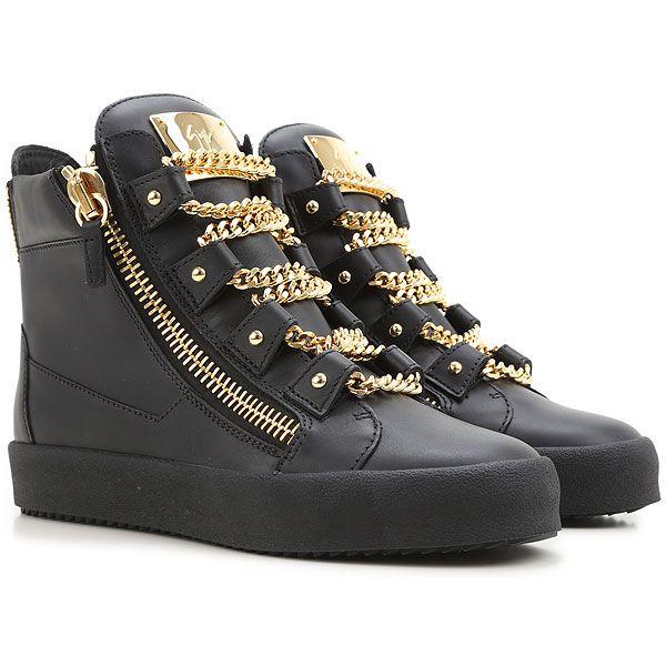 Mens Shoes Giuseppe Zanotti Design, Style code: rm5075-neroro-