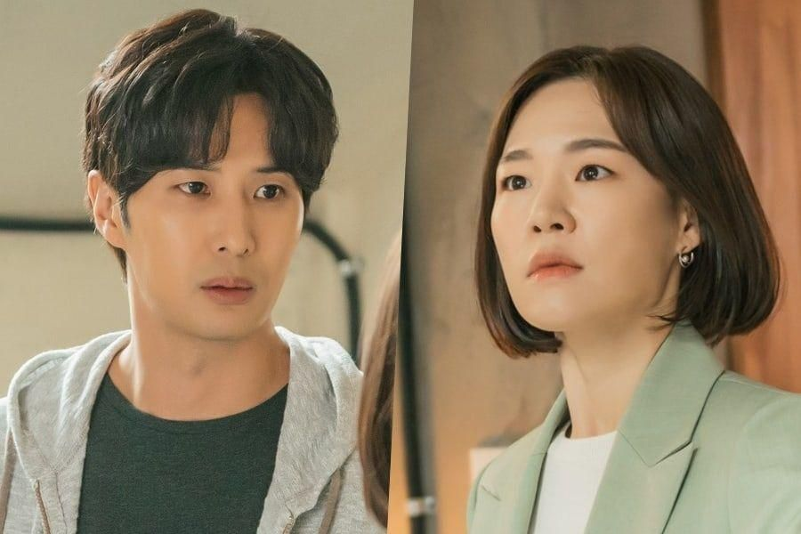 """Kim Ji Suk Is Deeply Concerned For His Longtime Friend Han Ye Ri In """"My Unfamiliar Family"""""""