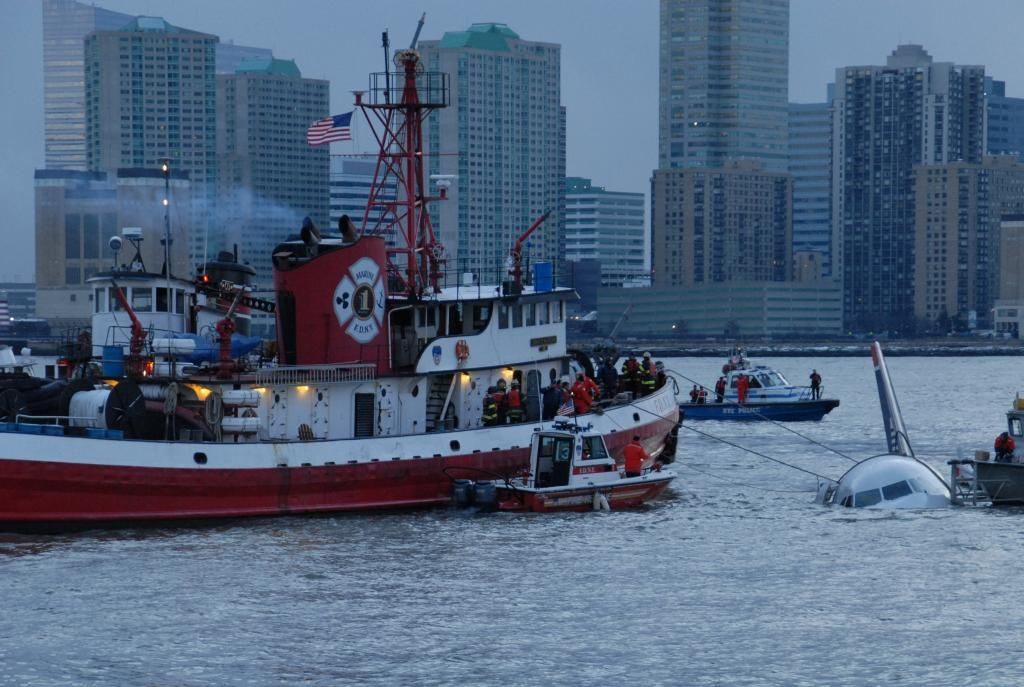 Miracle on the Hudson was six years ago today.  FDNY performed rescues and secured the plane.