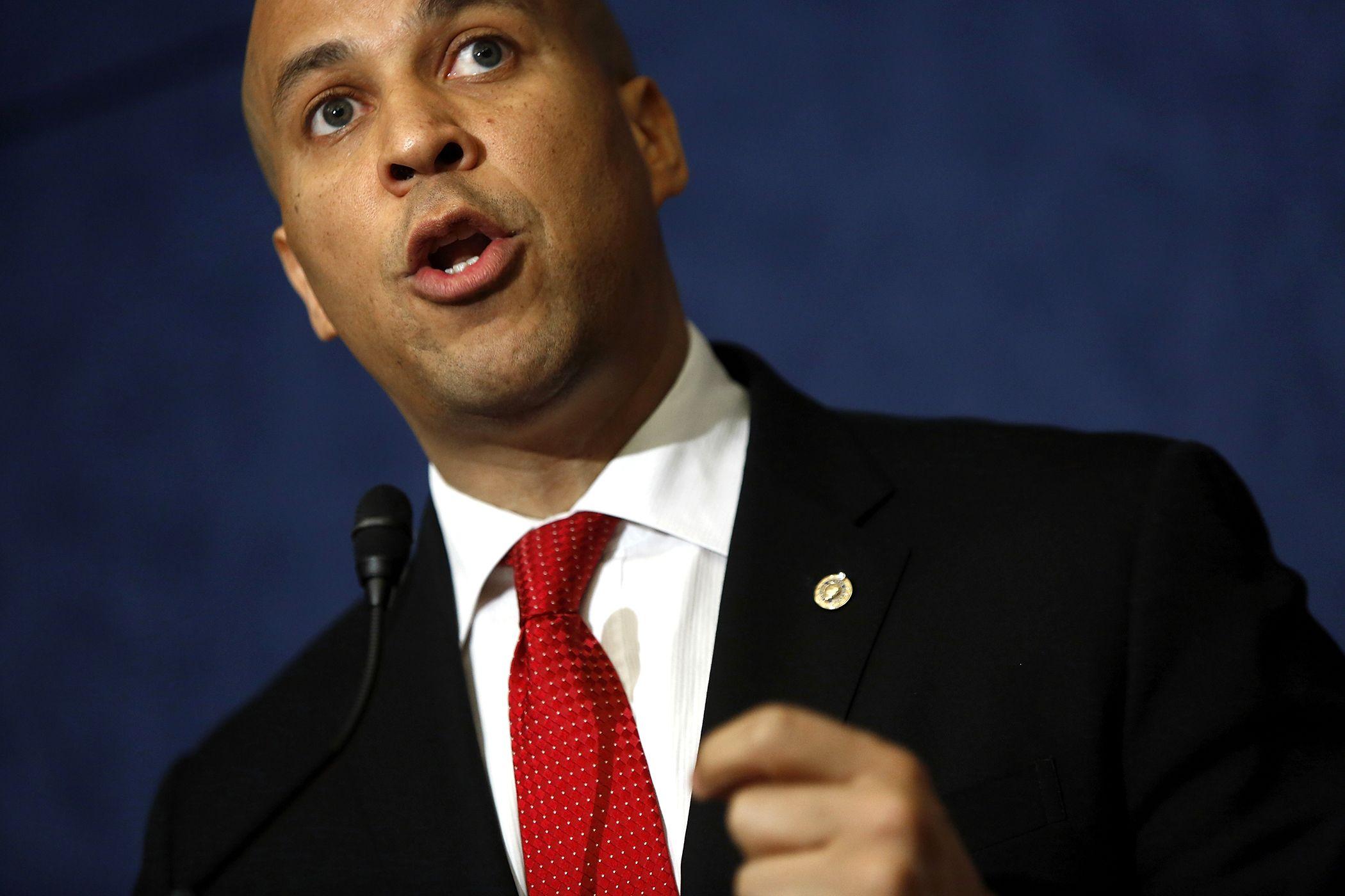 Unemployment at Center of Senator Booker's First Senate