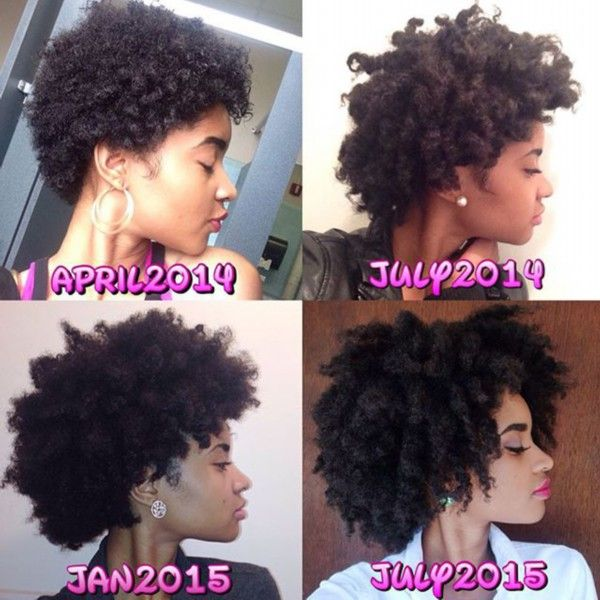 15 Inspiring Natural Hair Growth Journeys Hair Hair And