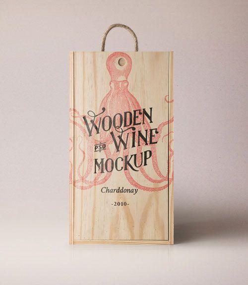 Download Wine Wood Box Mockup Box Mockup Wood Boxes Novelty Sign