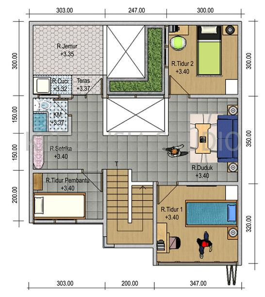 Ini 16 Contoh Gambar Denah Rumah Minimalis Beserta Keterangannya Dekorasi Minimalis Rumah Minimalis Denah Rumah