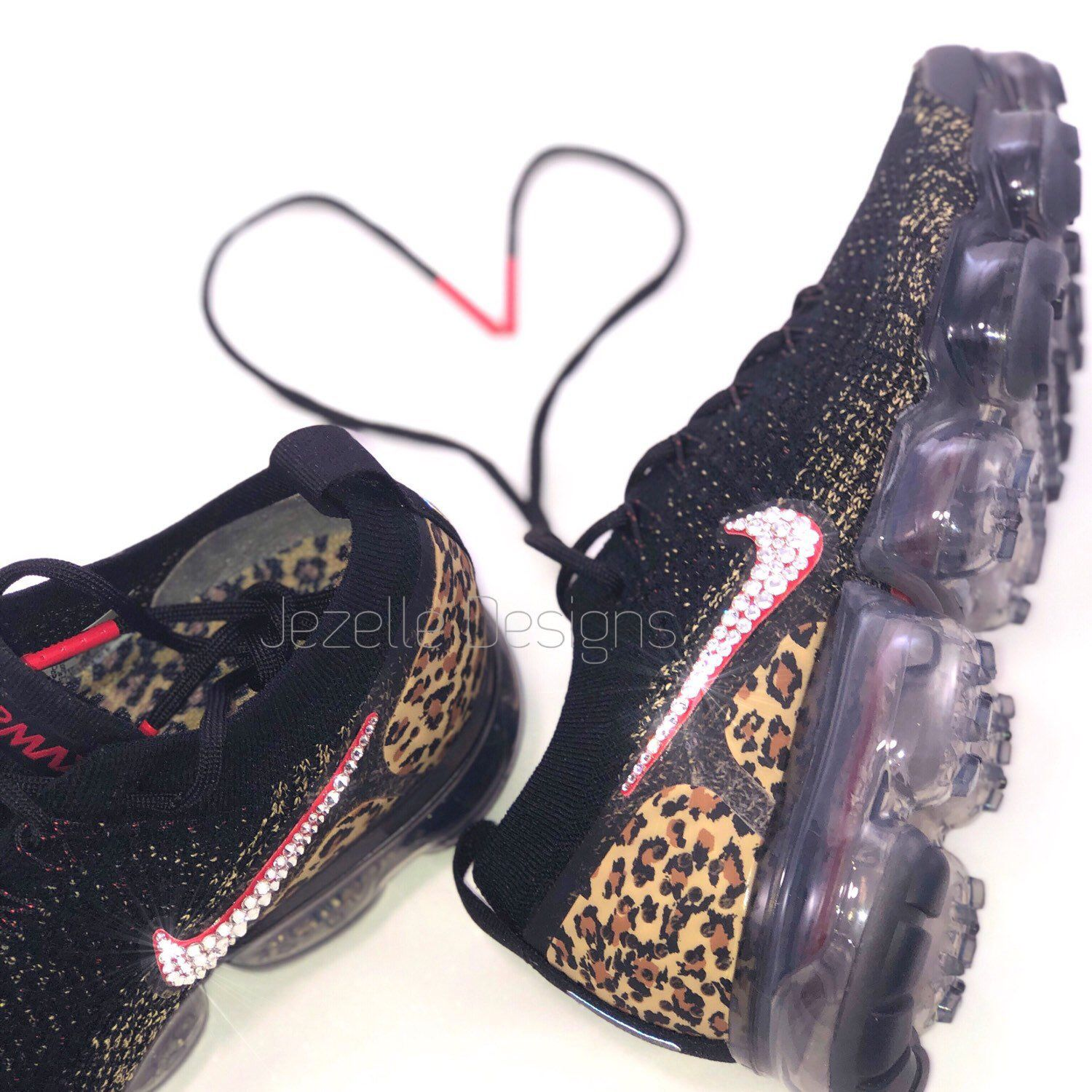 048294aa Brand New In Box - Authentic Blinged Out Womens Nike Air VaporMax Flyknit 2  Shoes in Animal Print- Custom Hand Jeweled w/ Swarovski Crystals!