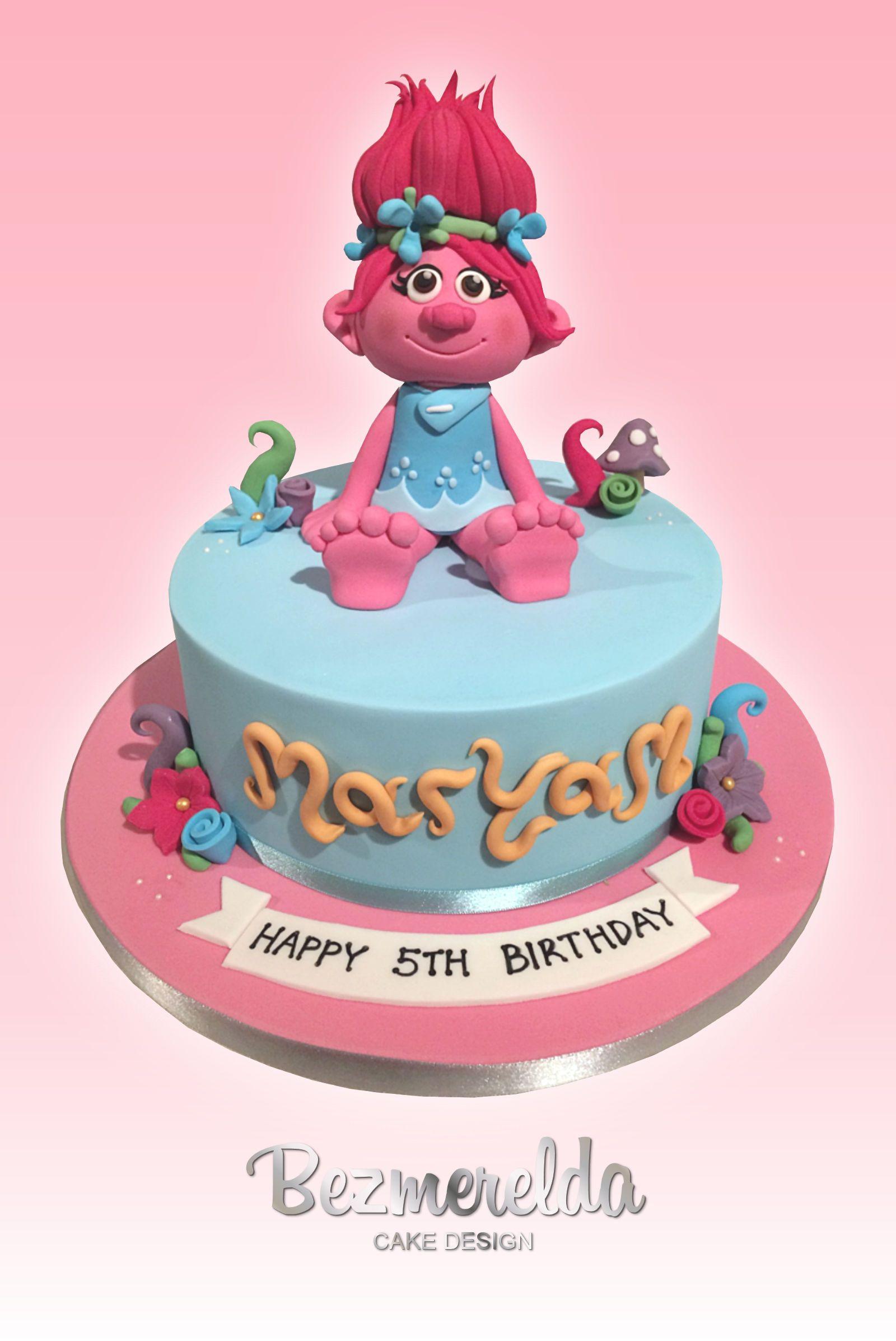 Cake Design Trolls : Trolls movie themed cake - Made by Bezmerelda Birthday ...