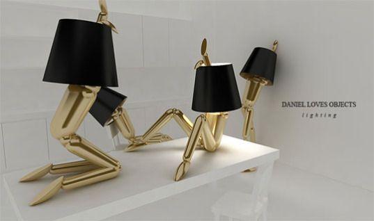 Mannequin Lamps Freshome Com Fancy Decor Unique Lamps Cool Lamps