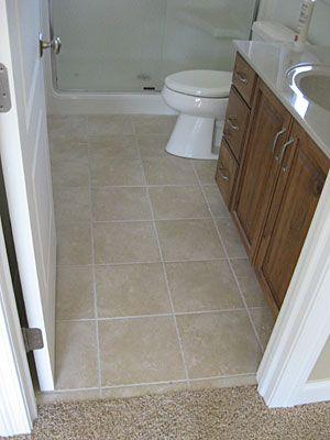 Tiled Bathroom Floors Ceramic Floor
