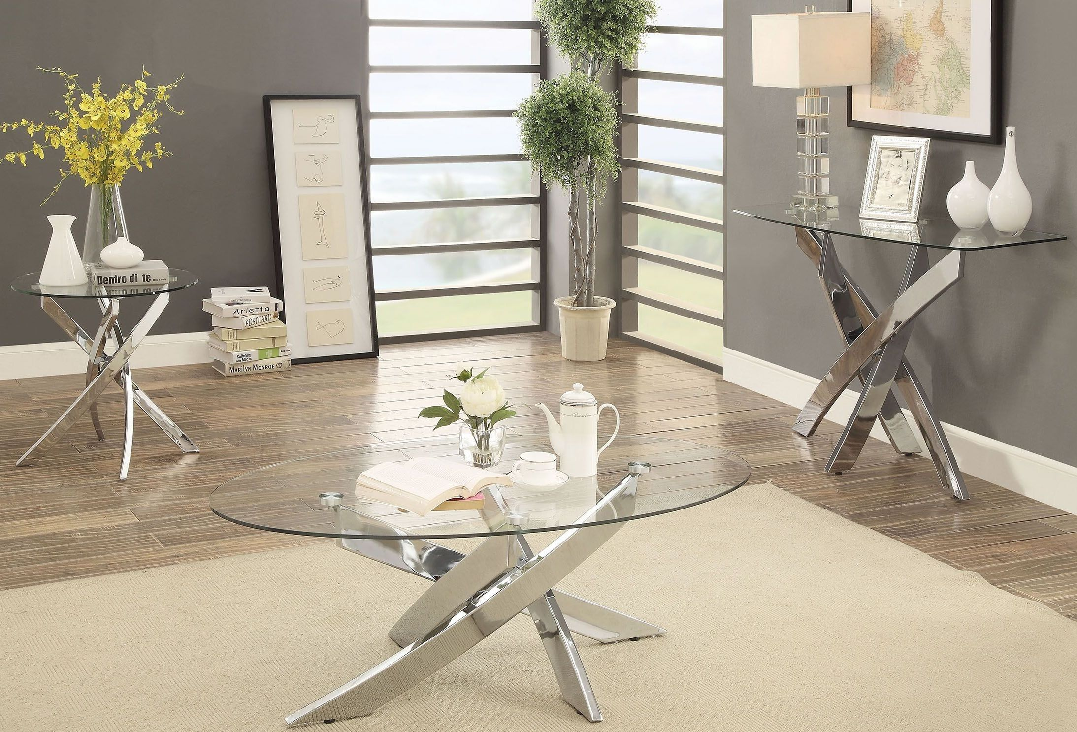 1stopbedrooms Com Furniture Of America Furniture Contemporary Coffee Table
