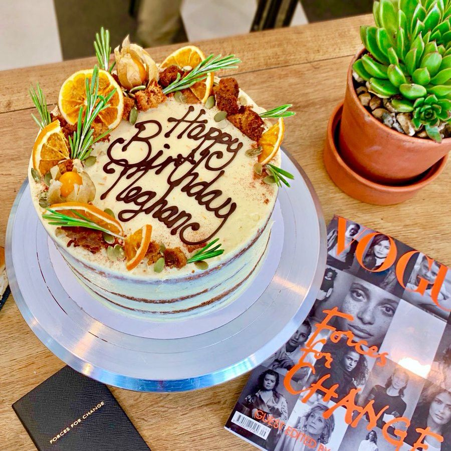 carrot cake delivery london