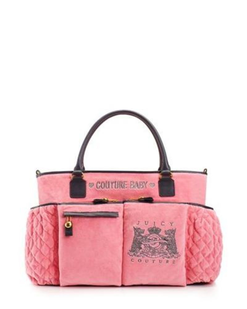 166100dd16000 Scottie Embroidery Baby Bag - Pink Candy - Juicy Couture
