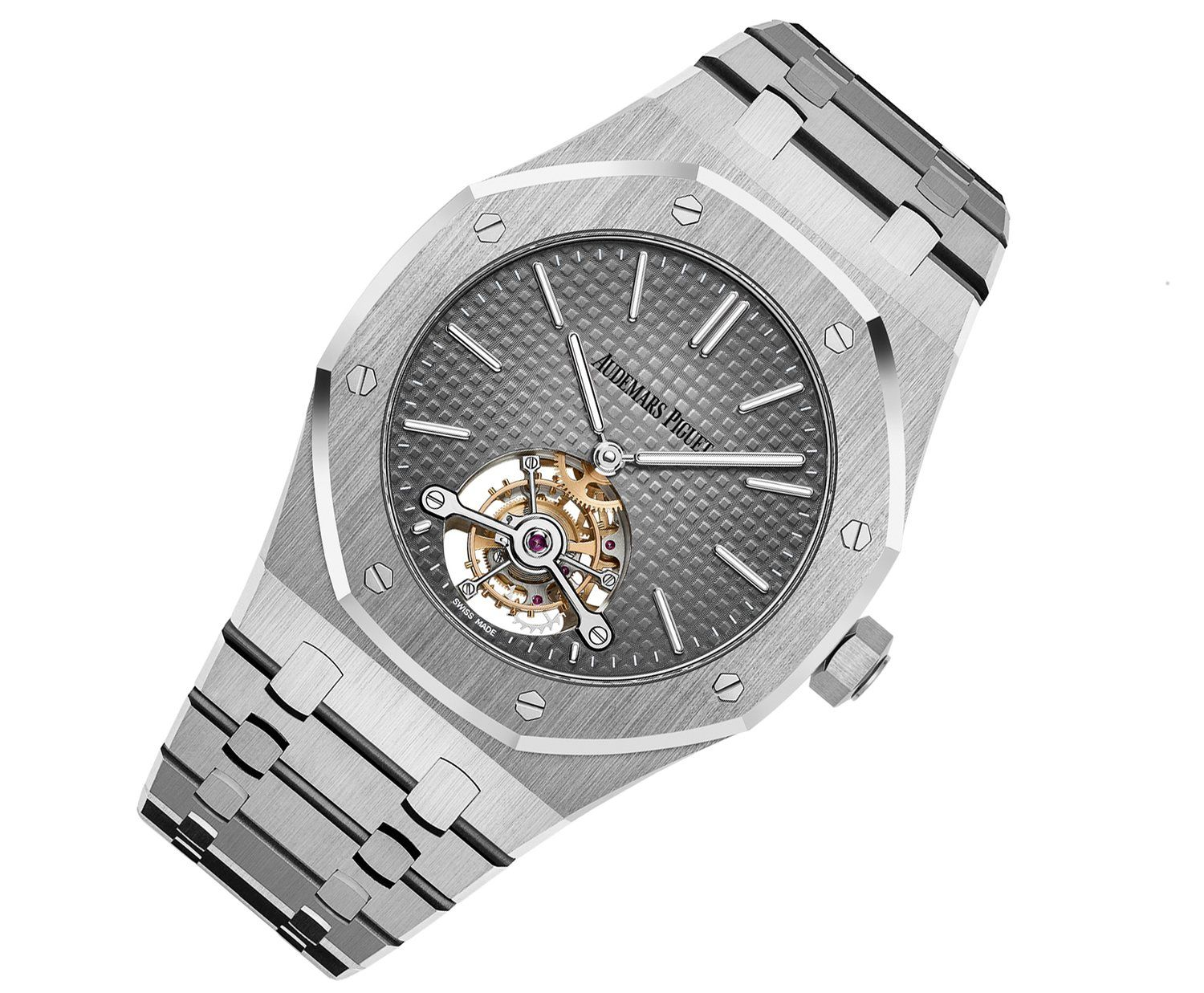 37334e0cebc Audemars Piguet Royal Oak Tourbillon Extra-Thin - platinum all around -  Perpetuelle