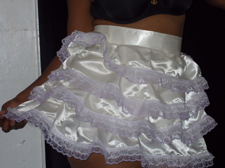 White lace apron wedding - White Satin Wedding Apron 55 00 Via Etsy
