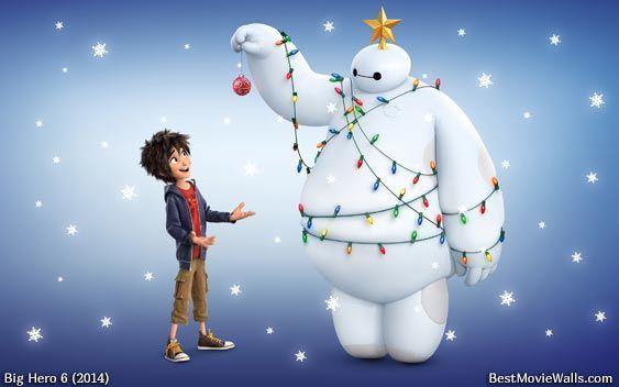 Christmas mood with Baymax and Hiro :]   Big Hero 6   Pinterest ...