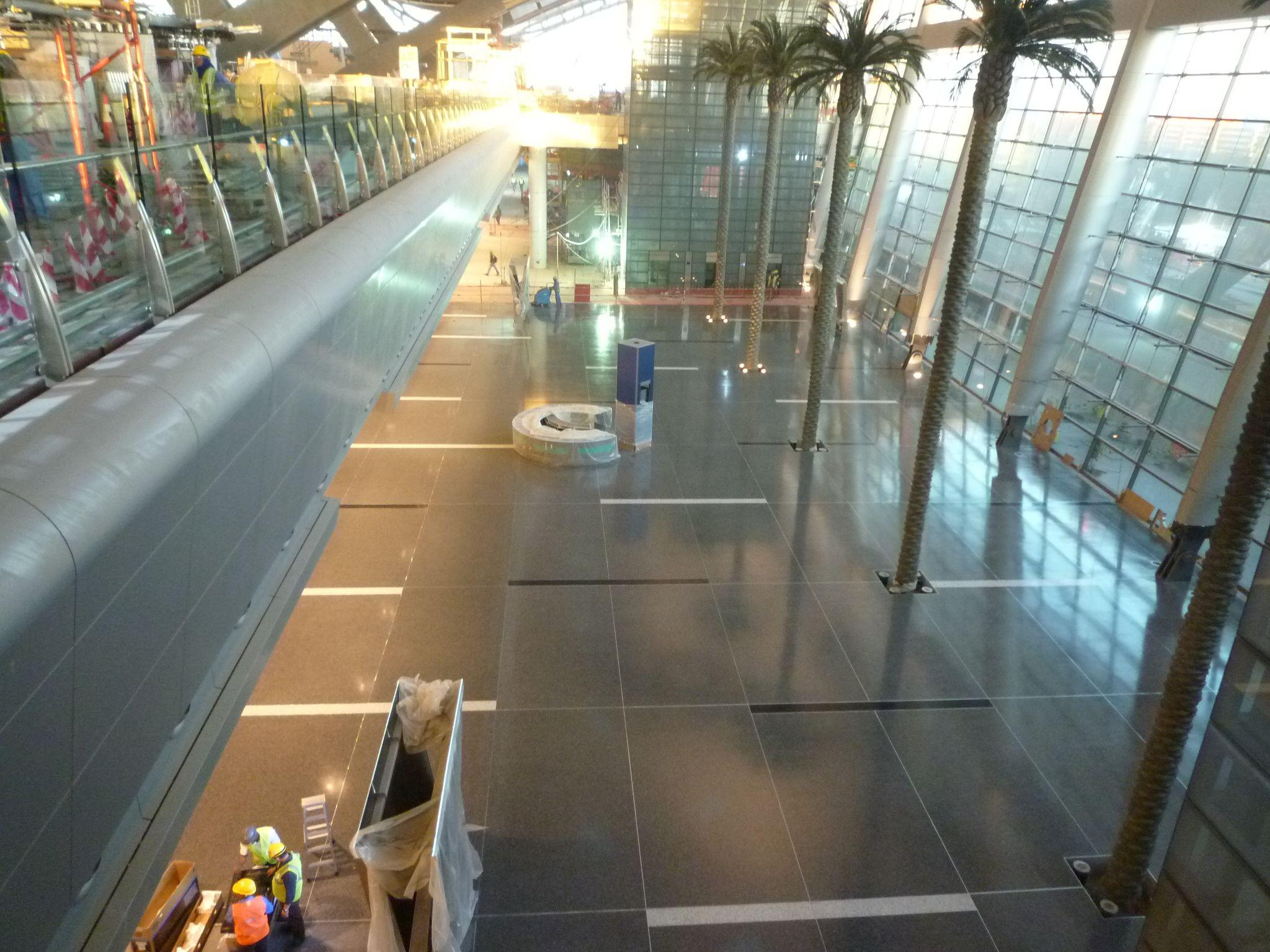Qatar International Airport Terrazzo Floor Project Used Bio