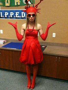 Rock lobster costume google search alice costumes pinterest lots of inspiration diy makeup tutorials and all accessories you need to create your own diy lobster crab costume for halloween solutioingenieria Images