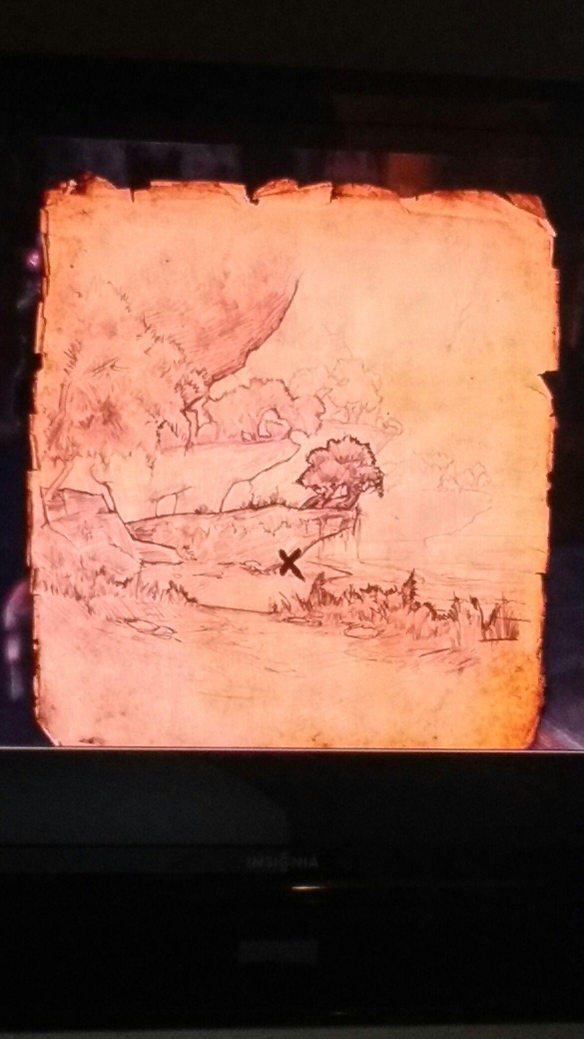 Auridon Treasure Map IV | ESO | Pinterest | Treasure maps