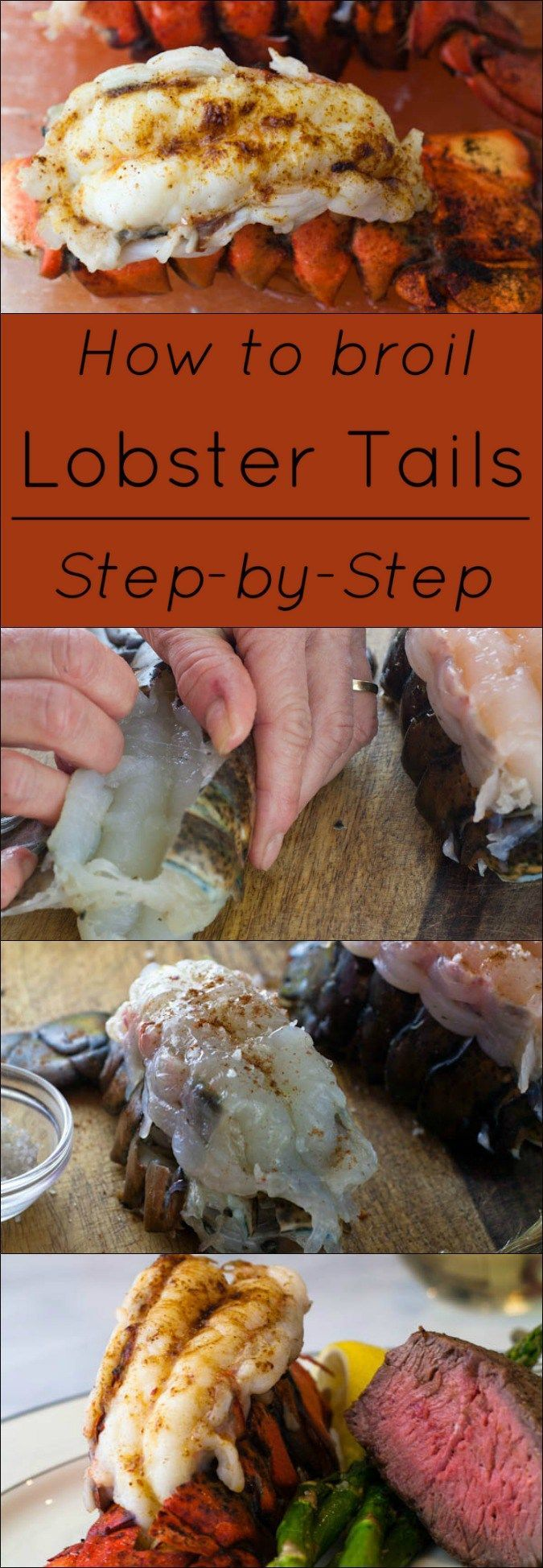 How To Use The Shell Of The Lobster As A Broiling Rack Step By Step Instructions Lobster Recipes Tail Grilled Lobster Tail How To Cook Lobster