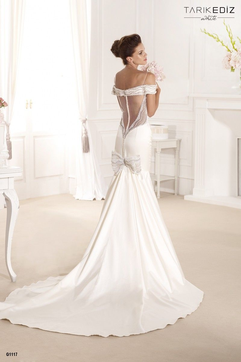 Southern belle wedding dresses  Tarik Ediz White  Details  Lace wedding dresses  Pinterest