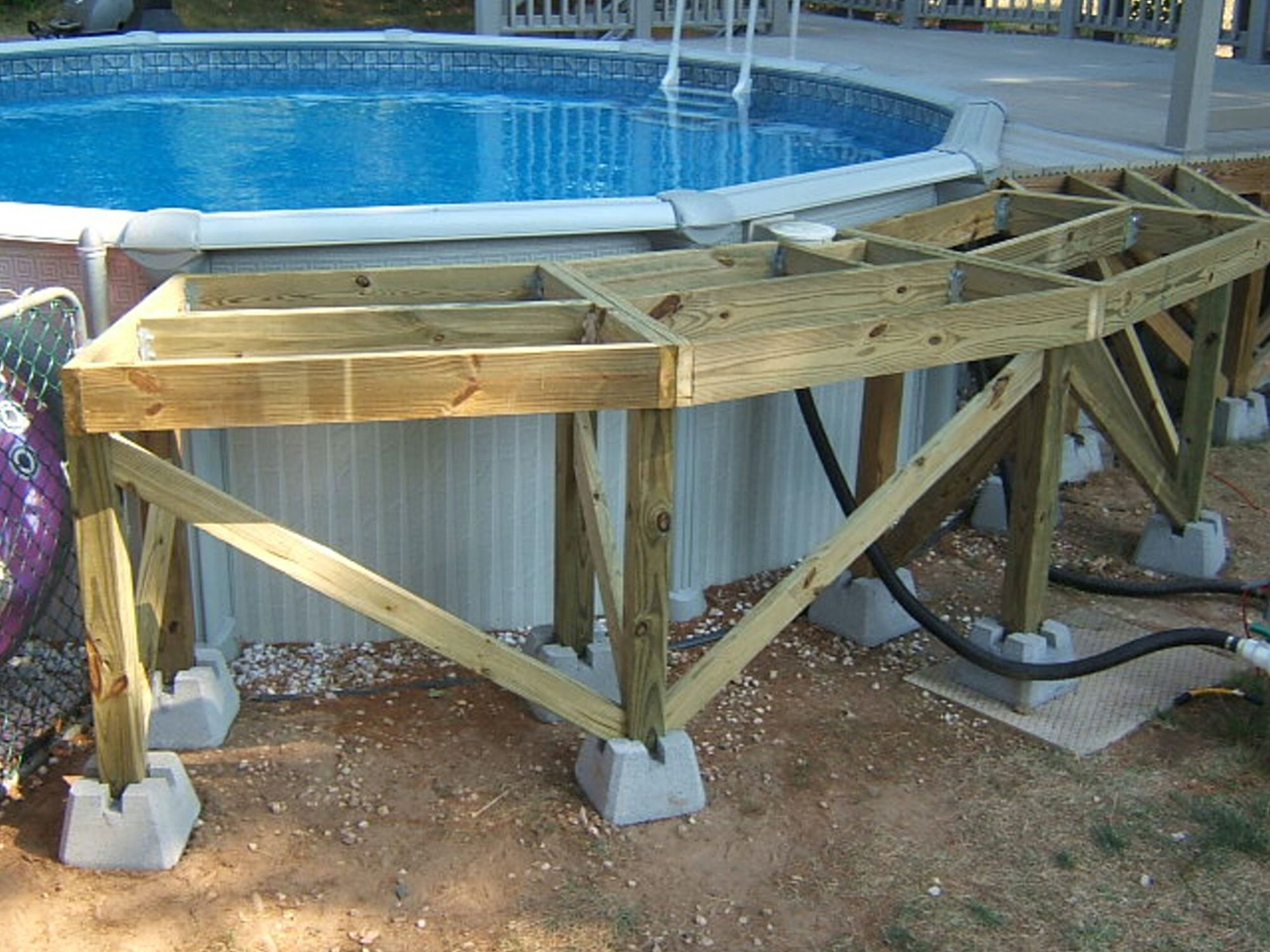 Photo of Substructure #pool DIY substructure