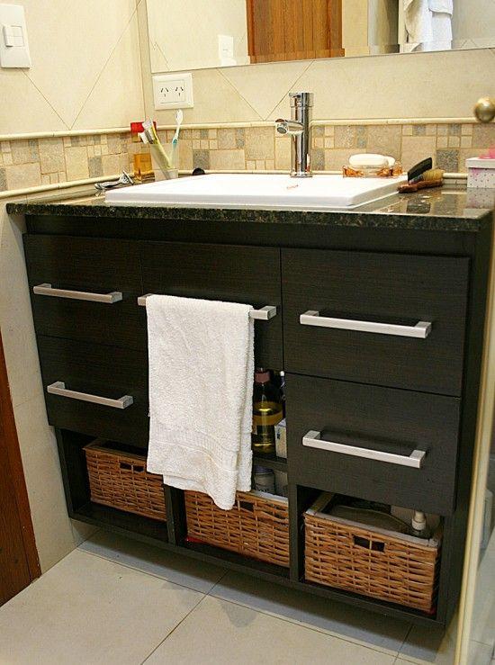 2 vanitory 4 cajones y toallero bathroom inspiration for Muebles de cuarto de bano grandes