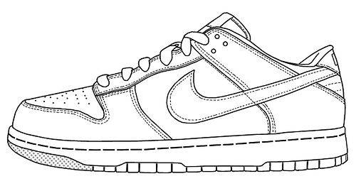 Image result for running shoe line drawing