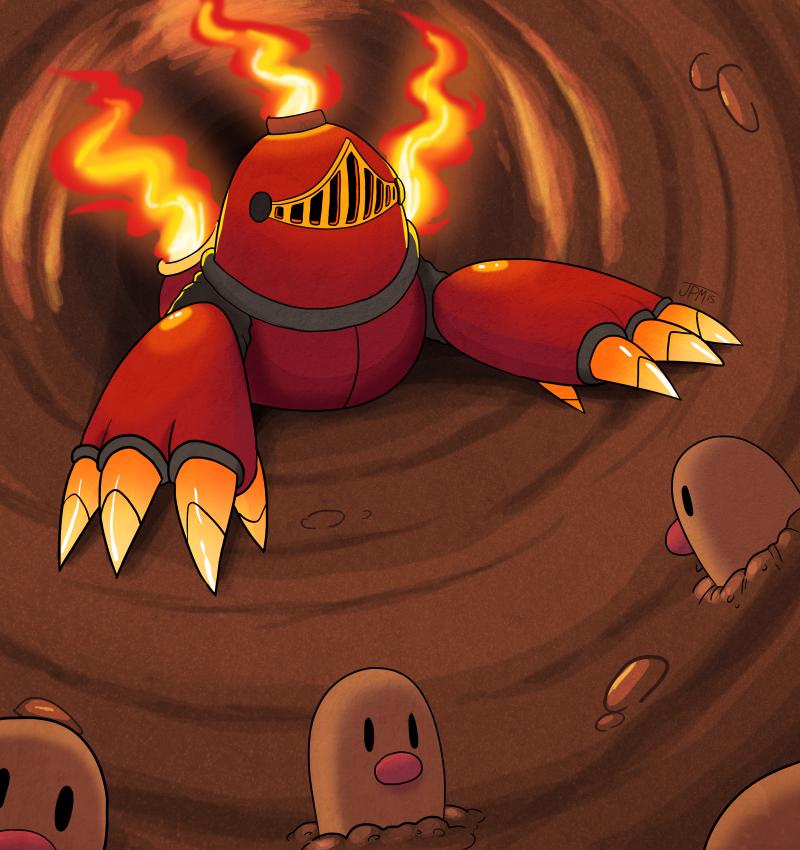 Mole Knight by jennyjams on DeviantArt