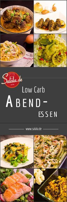 low carb abendessen bungen und ern hrung pinterest. Black Bedroom Furniture Sets. Home Design Ideas