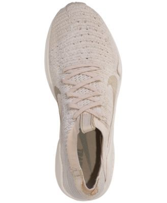 f6f172c9dca Nike Women s Air Zoom Fearless Flyknit 2 Champagne Running Sneakers from  Finish Line - Brown 7