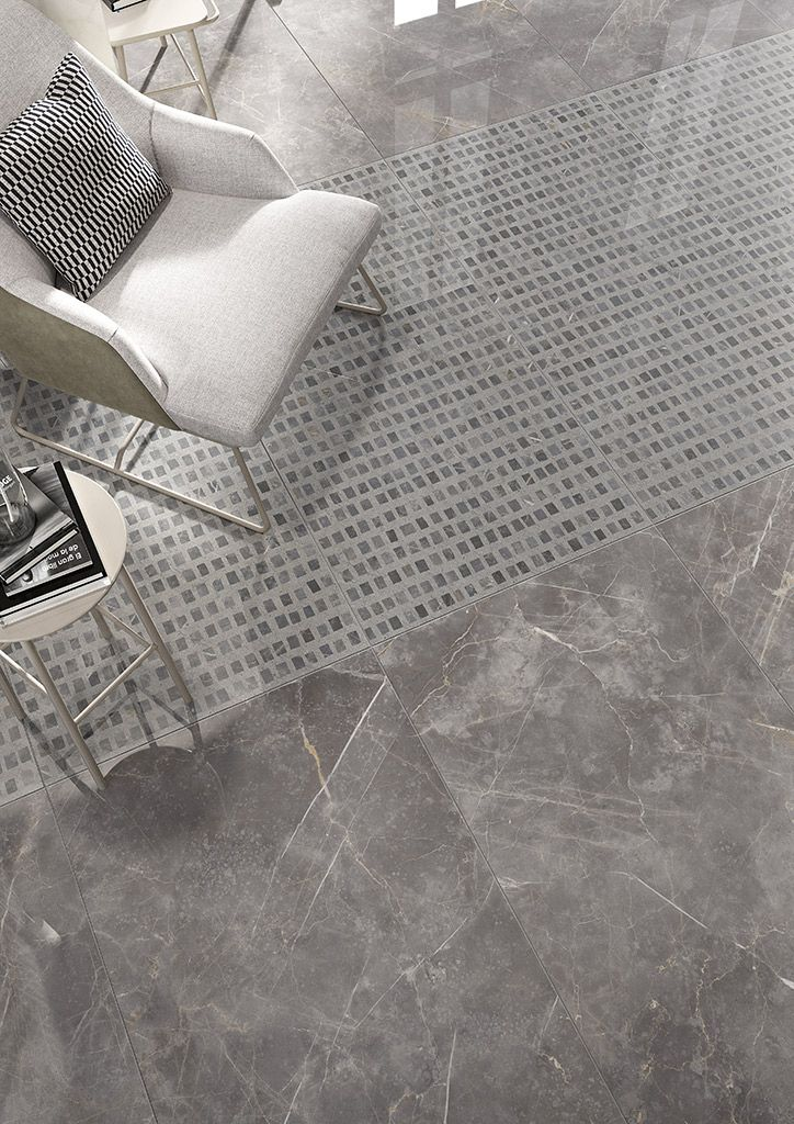 Pavimento de gres porcel nico efecto m rmol tendencias - Pavimentos de marmol ...