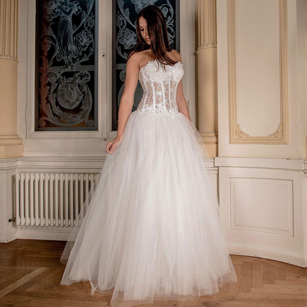Gemütlich Brautkleid Mit Korsett Fotos - Brautkleider Ideen ...