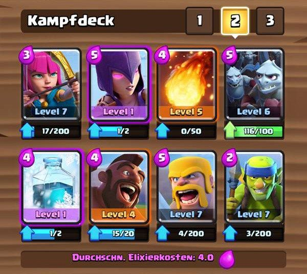arena 5 deck clash royale